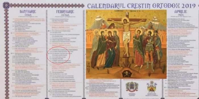 Calendar ortodox, luni, 25 februarie: Sărbătoare importantă la români! Rostește rugăciunea pentru împăcare, cea mai puternică dintre toate