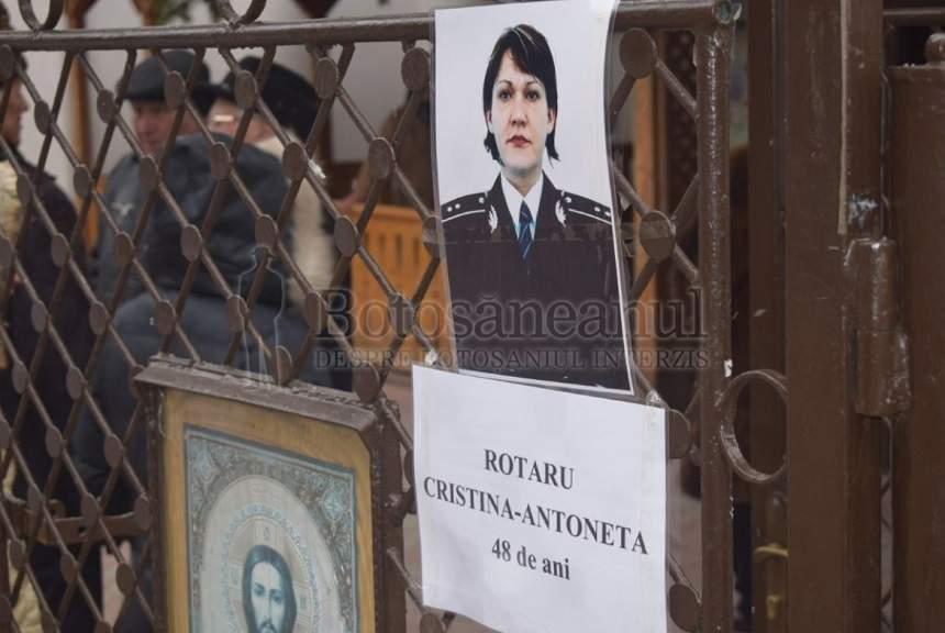 Polițista din Botoşani decedată în Germania, condusă pe ultimul drum! Doi copii au rămas fără mamă