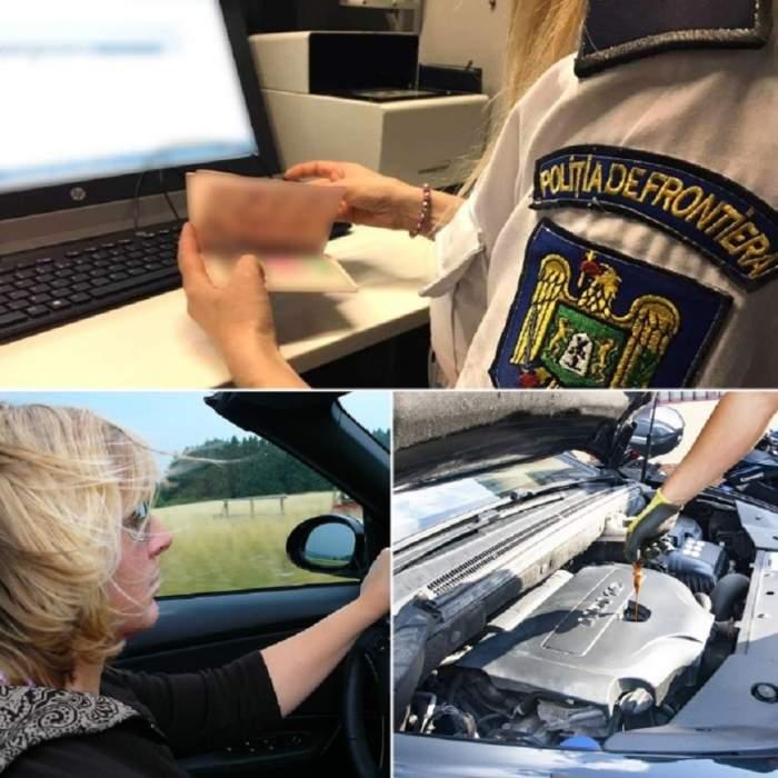 Şoferiţă cu tupeu fantastic! Femeia din Galaţi a traversat Europa cu acte false