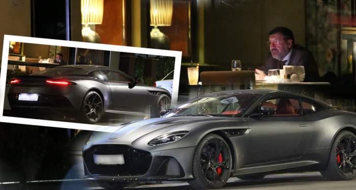 VIDEO PAPARAZZI / E mare barosan,iar pe şosele e number one! Milionarul Dan Nicorescu şi-a tras o maşină de 400.000 de euro