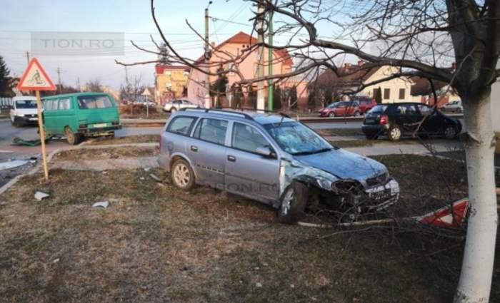 Accident foarte grav în Arad! Un bărbat în vârstă de 55 de ani a murit