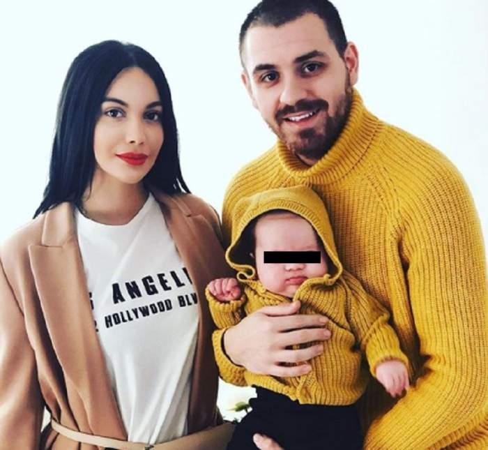 FOTO / Să tot ai un așa soț! Cum l-a surprins Betty Stoian pe Cătălin Vișănescu, cu puțin timp înainte de botezul copilului lor