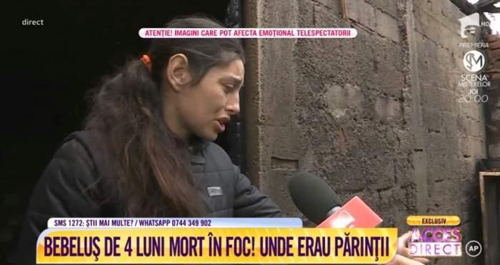 VIDEO / Bebeluș de 4 luni, mort în foc! Unde erau părinții?