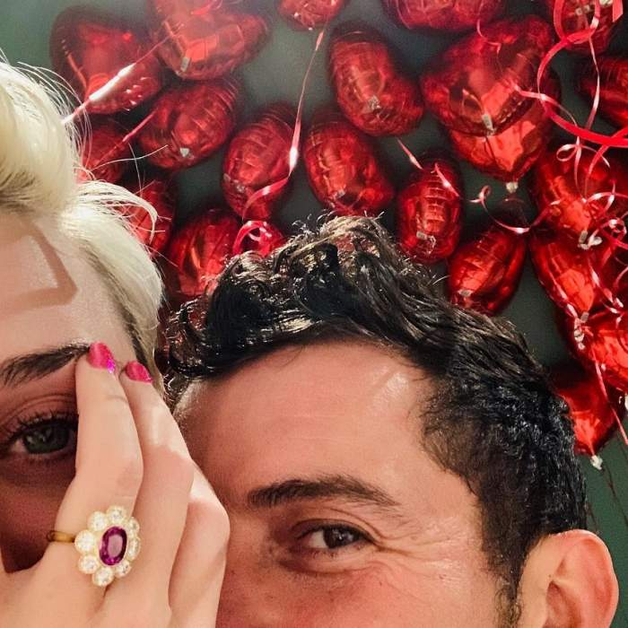 """Logodna lui Katy Perry cu Orlando Bloom o face mai fericită ca oricând; """"M-a cerut în căsătorie în elicopter"""" / VIDEO"""