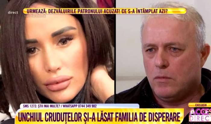 VIDEO / Unchiul Danielei Crudu, la un pas de sinucidere. Bărbatul ar fi fost şantajat cu un filmuleţ indecent