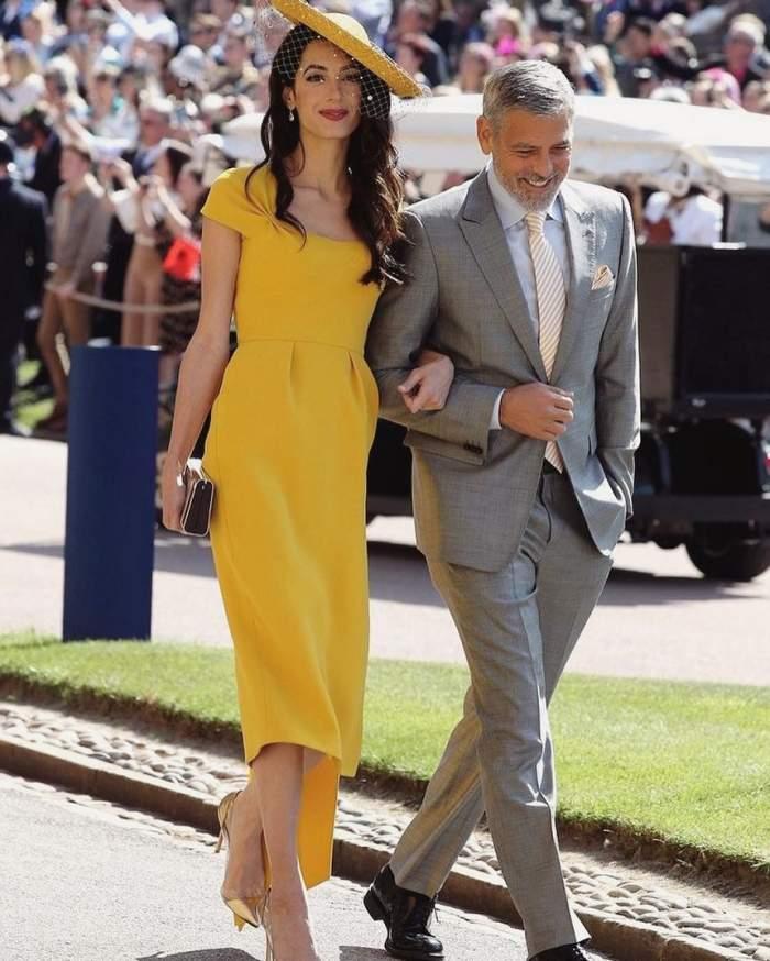 """George Clooney are un mesaj dur: """"Este o femeie însărcinată care este discriminată aşa cum a fost şi Prinţesa Diana"""""""