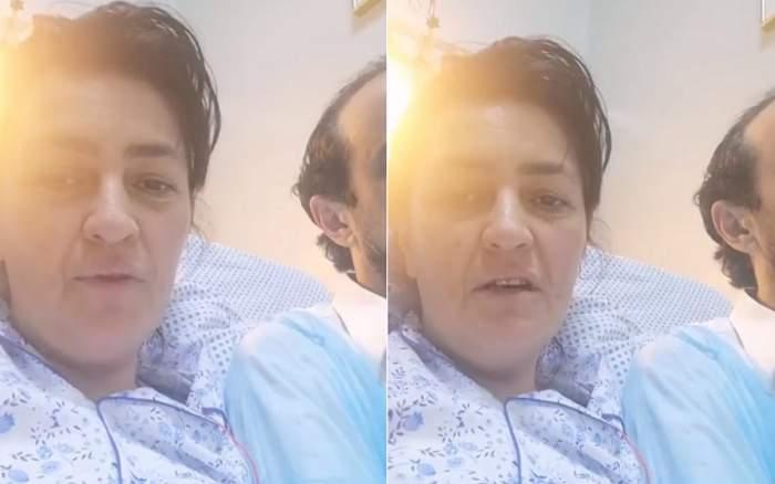 """Primele imagini cu Rona Hartner după operaţie: """"Domnul doctor a extirpat acea tumoare"""". VIDEO"""