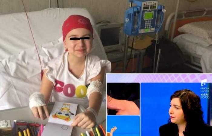 Cum se simte Adelina Juncu, fetiţa bolnavă de leucemie pentru care Florentina Gavrilă a strâns donaţii. Va fi operată