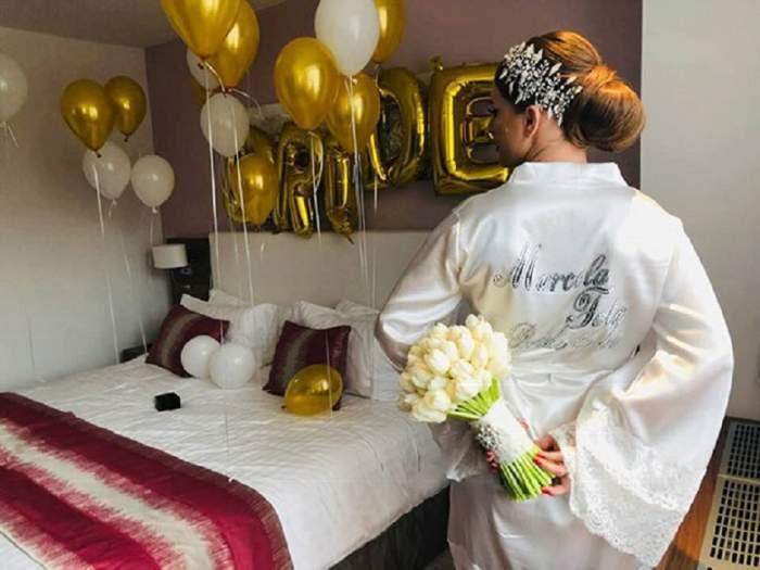 Nuntă mare în showbiz! O frumoasă cântăreață de muzică populară s-a măritat, după 13 ani de relație