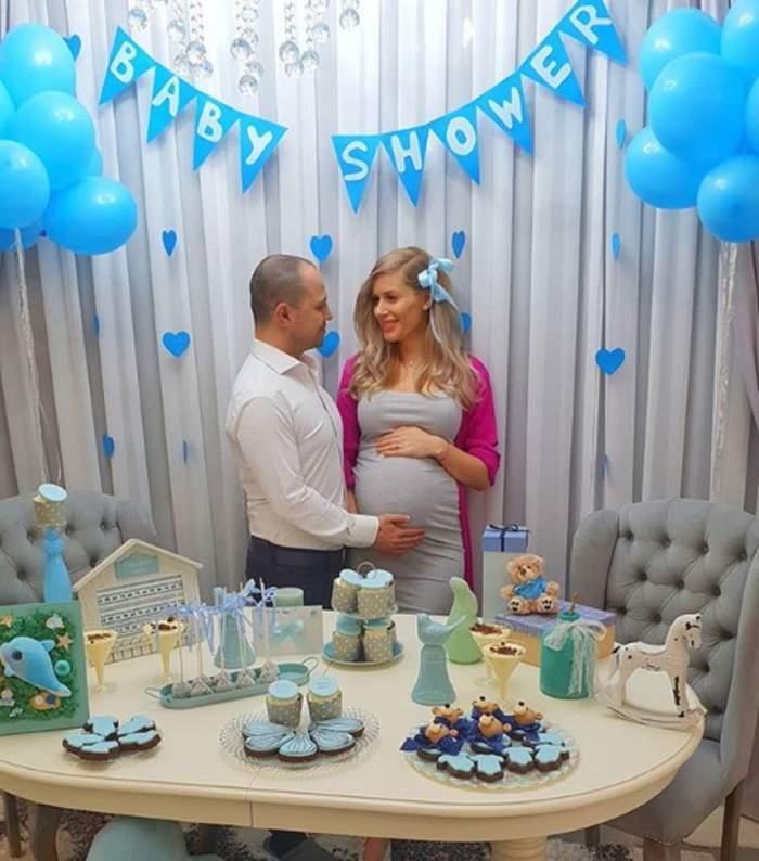 VIDEO / A început numărătoarea inversă. În aşteptarea bebeluşului, soţia lui Dan Badea a făcut un baby shower de neuitat!