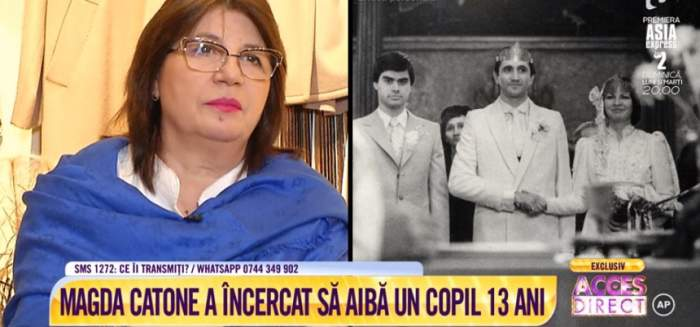 """VIDEO / Magda Catone, confesiune emoţionantă despre drama care i-a marcat familia: """"Am învăţat să tac"""""""