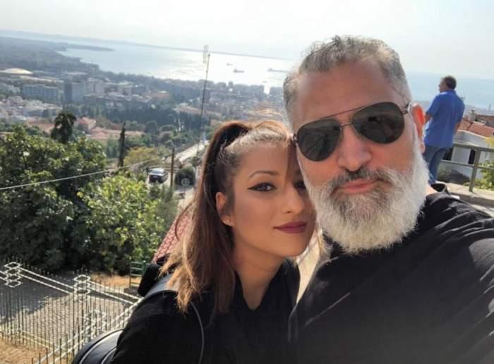 """FOTO / Damian Drăghici și logodnica însărcinată, prima aniversare împreună: """"Anul care ne-a schimbat viața pentru totdeauna"""""""