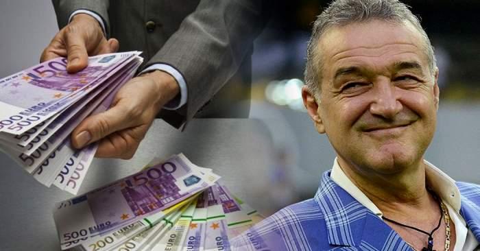 Veste incredibilă pentru Gigi Becali! Mai bogat cu 50.000 de euro