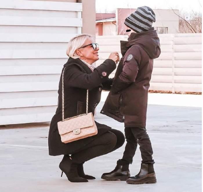 """FOTO / Jojo, mesaj emoționant pentru fiul ei, Achim: """"E inteligent și mă topește cu un zâmbet!!"""