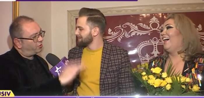 """VIDEO / Soțul Minodorei, declarație de dragoste emoționantă, de ziua de naștere a vedetei: """"E o verigă tare!"""""""
