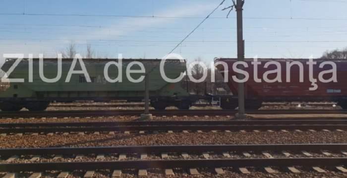 Un copil din Constanța s-a electrocutat, după ce s-a urcat pe un tren să-și facă un selfie