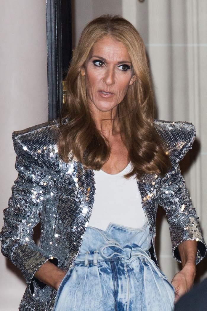 Celine Dion se topește pe picioare! La 50 de ani, artista arată de 70. FOTO