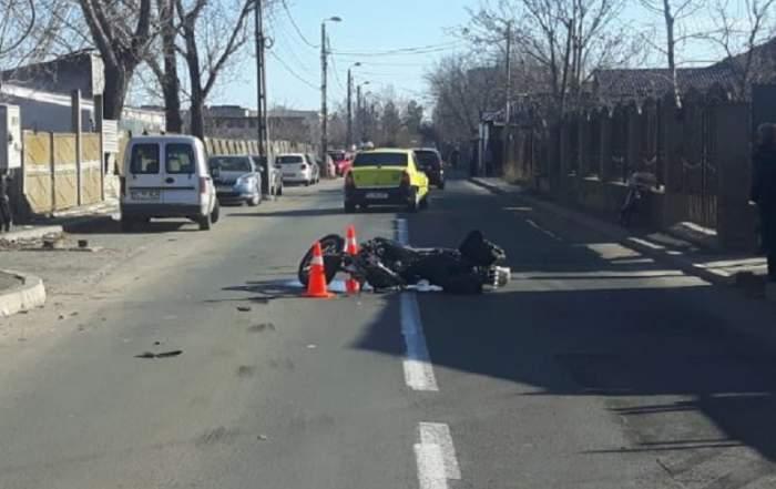 Un motociclist a murit într-un accident în Tulcea! Descoperirea făcută de poliţiştii ajunşi la faţa locului
