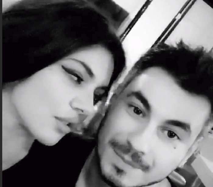 FOTO / Dovada că s-au împăcat! Cristina ICH și Alex Pițurcă, sărut în văzul tuturor