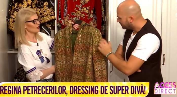 VIDEO / Diana Matei are un dressing de invidiat. Unele femei nici nu visează la aşa ceva