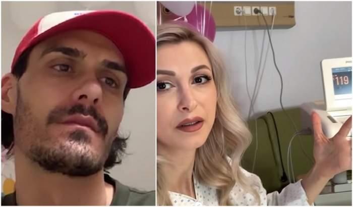 """George Burcea, în lacrimi în timp ce Andreea Bălan era intubată la Terapie Intensivă! """"Te uiți la fată că e bine și în partea cealaltă îți moare nevasta"""" VIDEO"""