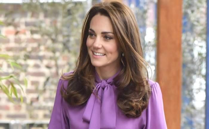 Kate Middleton, gafă vestimentară de zile mari. Și-a pus bluza de 1.300 de dolari invers