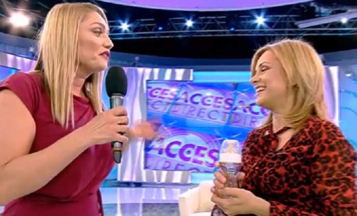 Simona Gherghe a predat ştafeta noii prezentatoare, la  Acces Direct! Emoțiile sunt la cote maxime