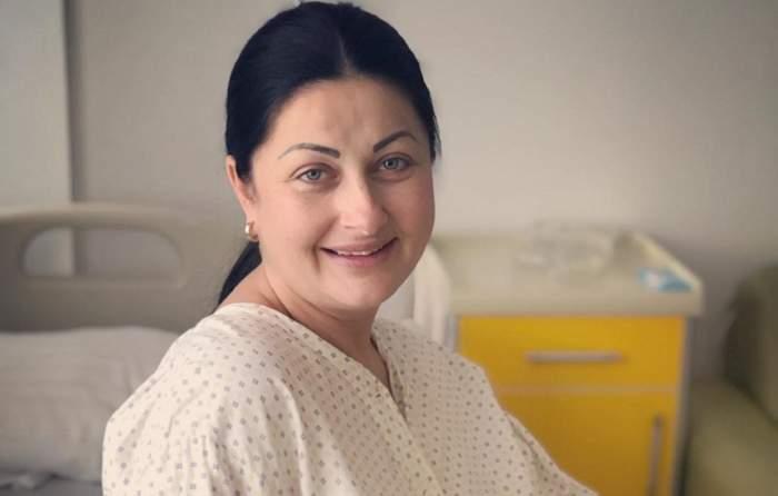 Gabriela Cristea, prima fotografie din spital! În scurt timp va da naştere celui de-al doilea copil
