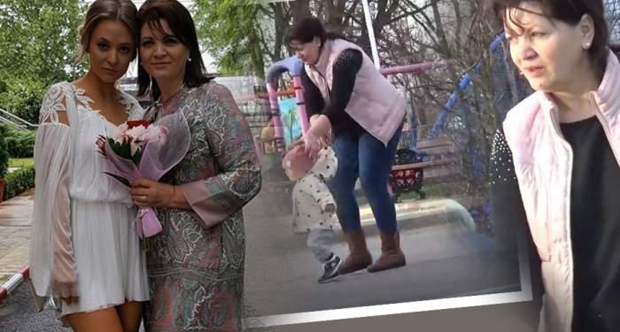 VIDEO PAPARAZZI / Le dau clasă tuturor bunicilor! Cum se comportă Gina Matache şi soţul ei cu prima nepoţică
