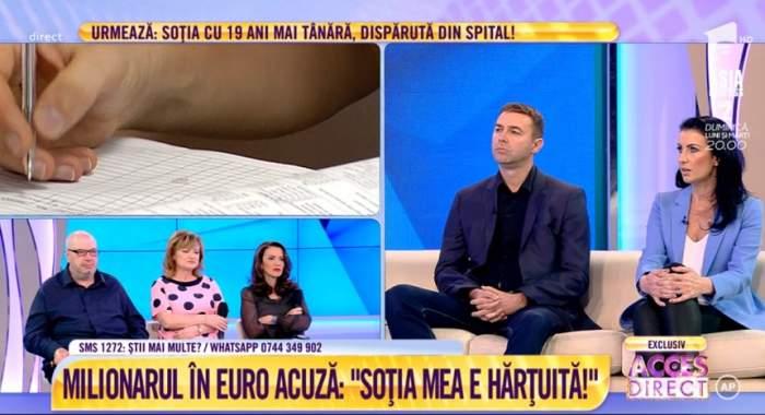 """Caz scandalos! Milionarul în euro acuză: """"Soția mea e hărțuită!"""". VIDEO"""