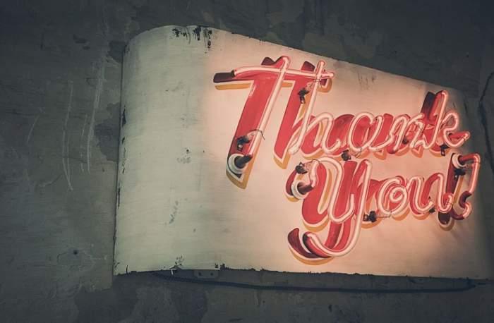 Mesaje deosebite de mulţumire pentru orice situaţie