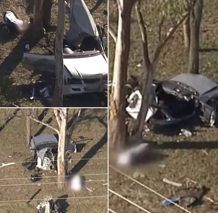 O mamă şi-a ucis copiii de 4 şi 6 ani, într-un accident grav. Femeia conducea fără permis / VIDEO