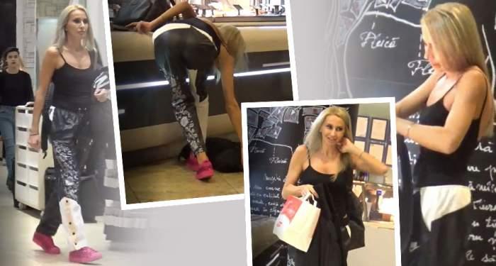 "VIDEO PAPARAZZI / Adio, salate! Crina Abrudan a dat dieta pe ""pofte tradiționale"""