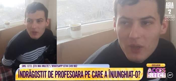 Ipoteză şocantă în cazul tânărului care şi-a înjunghiat fosta profesoară! Mihai Niţescu ar fi fost îndrăgostit. VIDEO