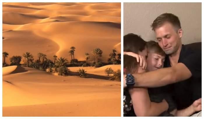 Drama unui copil de numai 5 ani. S-a rătăcit în deșert și a îndurat condiții de nedescris