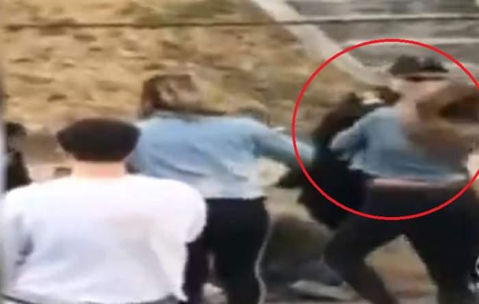 """FOTO / Tânără de 20 de ani, lovită brutal cu pumnul în față, de un polițist: """"Am fost șocată"""""""