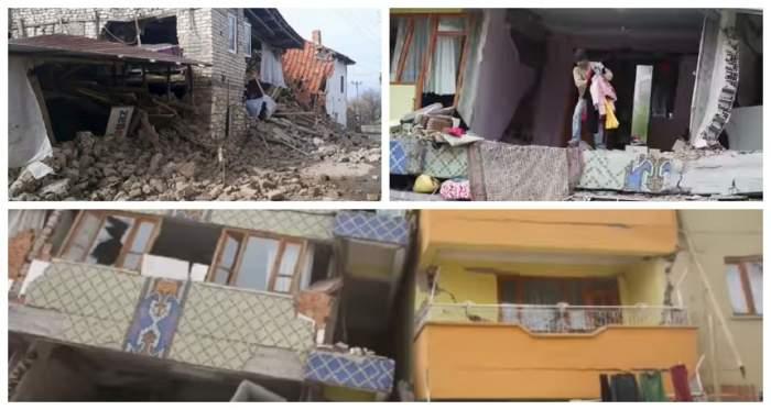 Imagini cumplite în Turcia, după cutremurul violent de ieri. Seismul a distrus totul! FOTO
