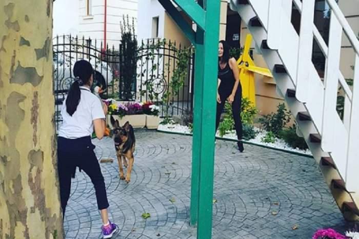 """Fiica Andreei Marin, pasionată de un sport al bărbaților: """"Eu o încurajez"""""""