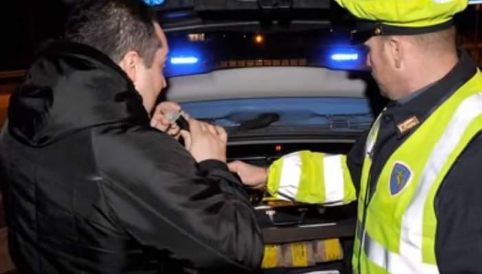 Român prins la volan cu alcoolemie de peste 3 la mie, în Italia. A fost oprit pentru că mergea prea încet
