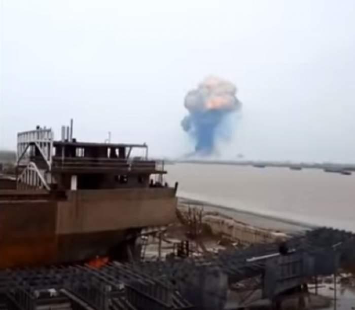 Imagini de coșmar! Peste 60 de persoane au murit și alte 600 au fost rănite, în urma unei explozii. VIDEO
