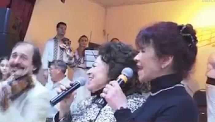 """Maria Ciobanu şi fiica, în lacrimi pe scenă! """"Dacă nu mai exsersez sigur că instrumentul nu mai merge"""""""