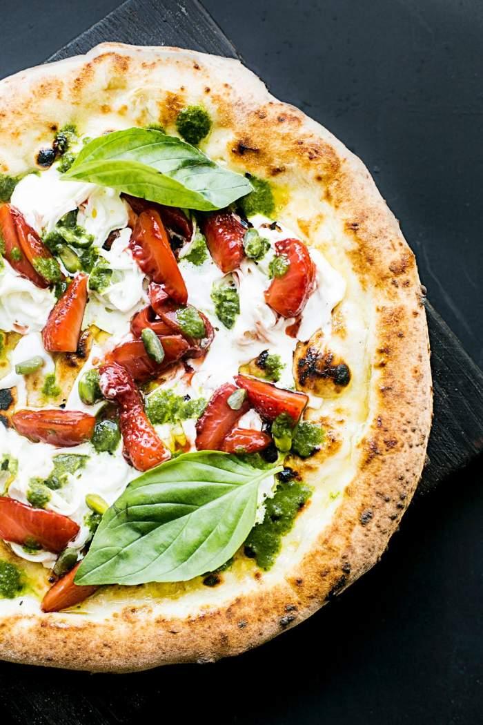 Rețete pentru cină: Pizza de post, cu legume