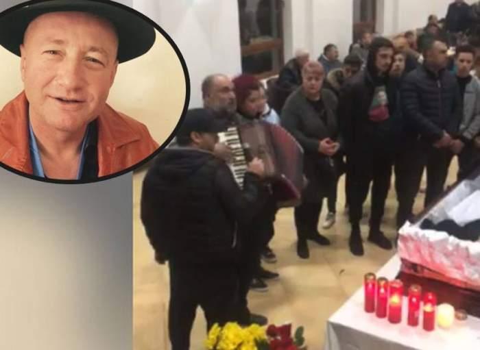 Clipe dramatice la înmormântarea lui Nicu Maharu! Un cunoscut cântăreț a leșinat lângă sicriu