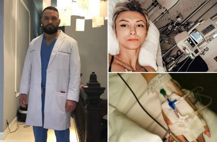 """EXCLUSIV! Andreea Bălan a trecut de a treia operaţie, dar încă sunt riscuri! Ovidiu Peneş: """"Există tratament specific"""""""