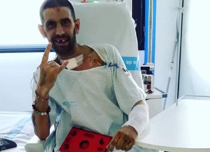 """DJ Pagal, primul mesaj după accidentul de motocicletă: """"După o săptămână de comă și cinci operații, trăiesc"""""""