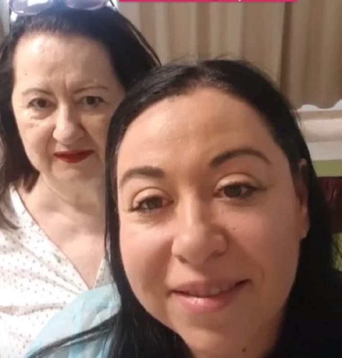 """Oana Roman şi-a dus mama la spital: """"Nu se simţea foarte bine"""""""