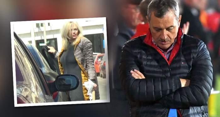 Dinamo e în colaps, soția lui Rednic se roagă! Imagini cu Silvia, surprinse la biserică VIDEO PAPARAZZI