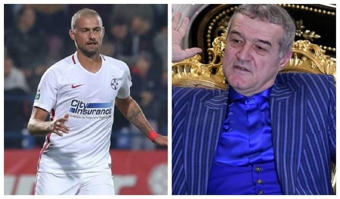 """Reacția lui Gigi Becali, după ce Gabi Tamaș a fost arestat pentru că a condus beat: """"Cum nu s-a mai dus la biserică, a luat-o iar cu băutura"""""""