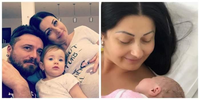 """Primele probleme ale Gabrielei Cristea și ale lui Tavi Clonda, după a doua naștere: """"Victoria e deja puțin geloasă"""""""