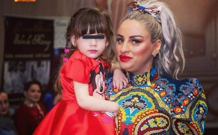 """Sânziana Buruiană își duce fetița de 3 ani la concursuri de Miss: """"E mare îmbulzeală"""""""